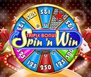 Triple Bonus Spin 'N Win